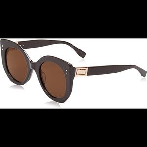 Fendi 52mm Modified cat eye Sunglasses